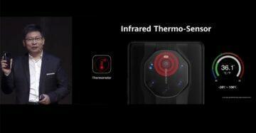 teplotní IR senzor