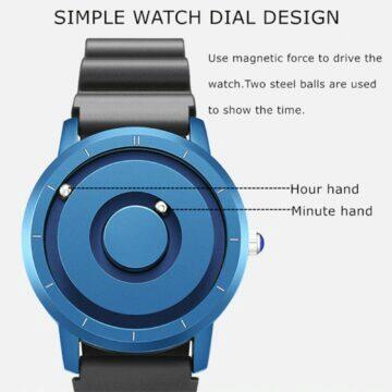 tipy na extravagantni hodinky Eutour s kuličkami namísto ručiček funkce
