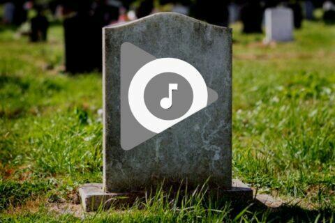ukončení Hudba Google Play