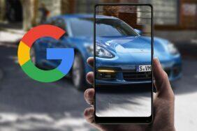 virtuální 3D modely aut aplikace Google