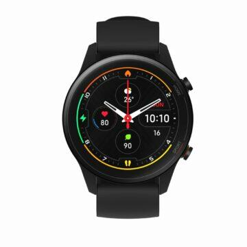 Xiaomi Mi Watch parametry cena černá
