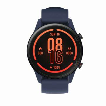 Xiaomi Mi Watch parametry cena modrá