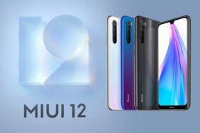 Xiaomi Redmi Note 8T MIUI 12