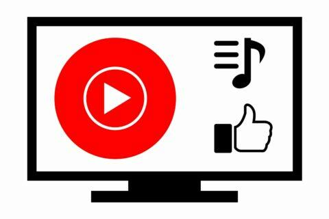 YouTube Music TV playlist