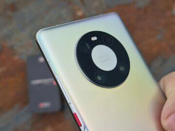 testování Huawei Mate 40 Pro záda detail