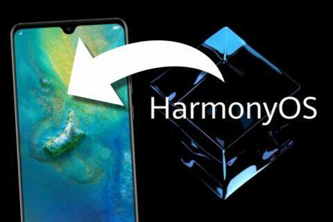 zpětná podpora HarmonyOS starší Huawei mobily