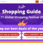 11.11 harmonogram AliEspress nákupní festival 2020