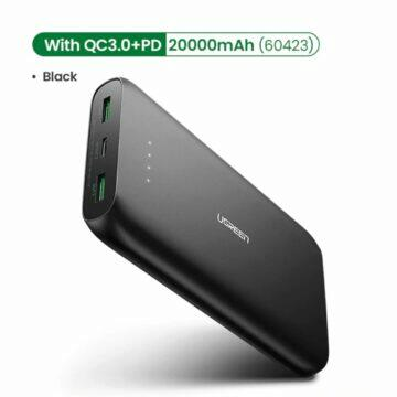 20 000mAh powerbanka Ugreen s QuickCharge 3.0