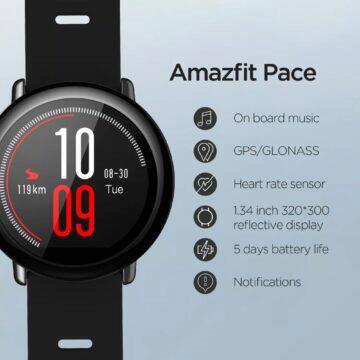 11.11 2020 první tipy Amazfit Pace vlastnosti