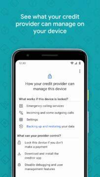 Aplikace Device Lock Controller práva
