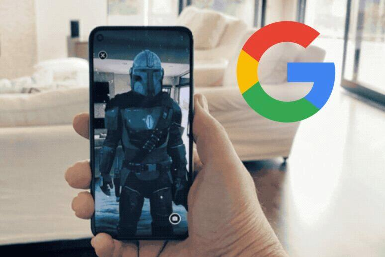 aplikace The Mandalorian AR Experience