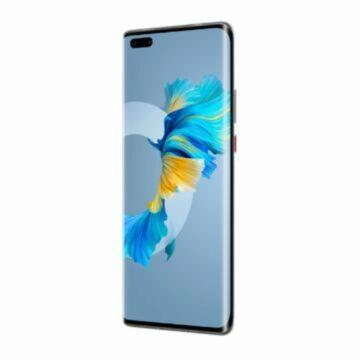 barva Huawei Mate 40 Pro black bok
