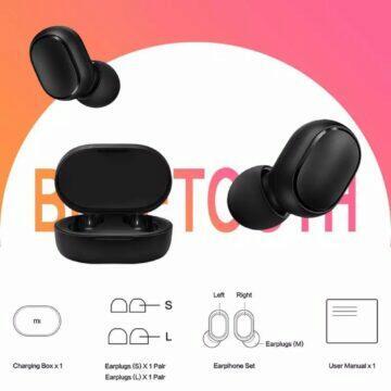 Bezdrátová sluchátka Xiaomi Redmi Airdots 2 vlastnosti