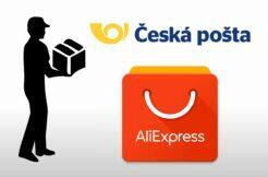 Česká pošta AliExpress partnerství