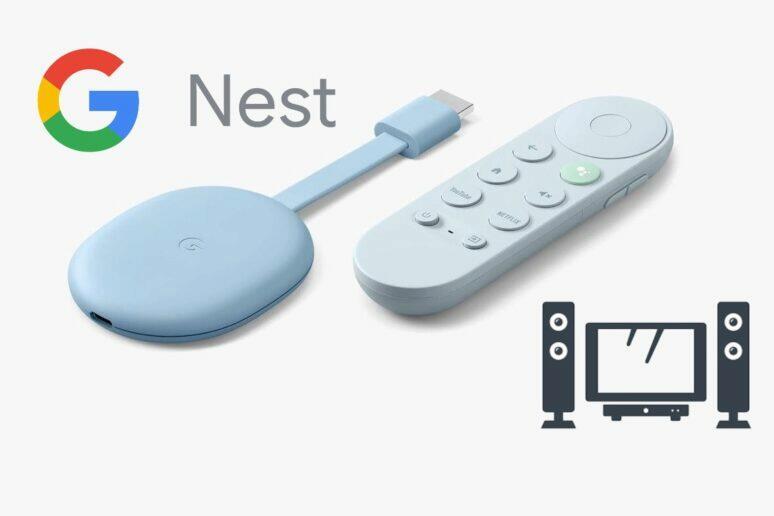 Chromecast domácí kino