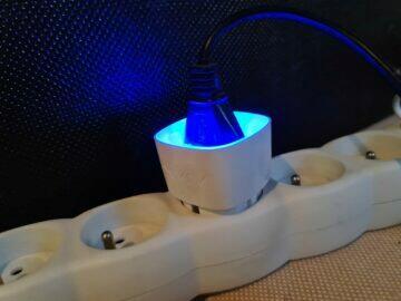 chytrá zásuvka AJAX Socket modrá