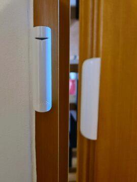 dveřní senzor otevřený