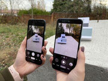 fotoaparát google telefon