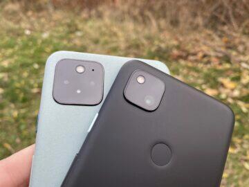fotoaparáty pixel 5 4a