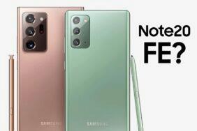 Galaxy Note20 FE spekulace