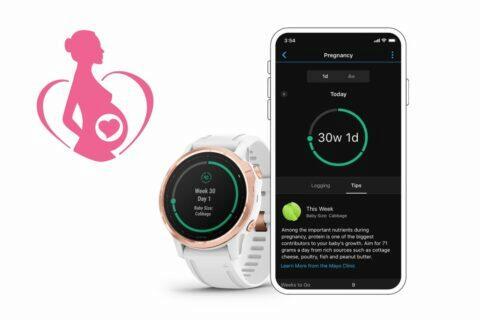 garmin hodinky těhotenství