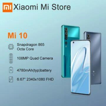 akční ceny 11.11 2020 Globální verze Xiaomi Mi 10 8 256 GB parametry