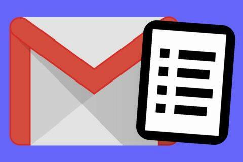Gmail postranní panel kontakty