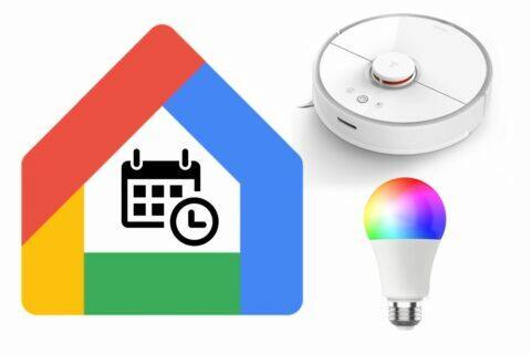 Google Asistent plánování akcí