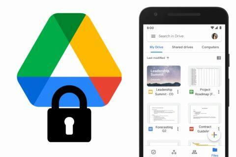 google disk šifrování