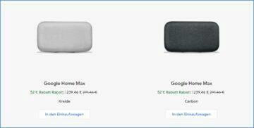 Google Home Max Black Friday sleva