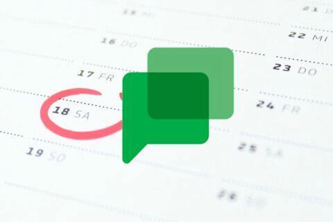 google kalendář google chat