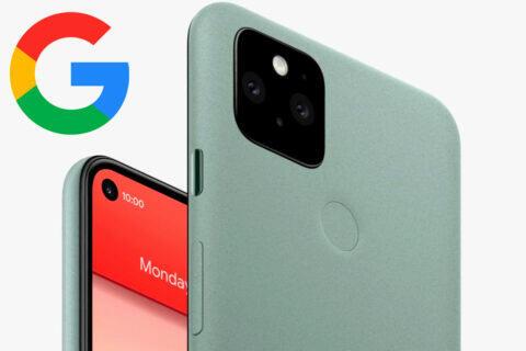 google pixel 5 nová aktualizace