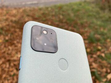 google pixel 5 recenze
