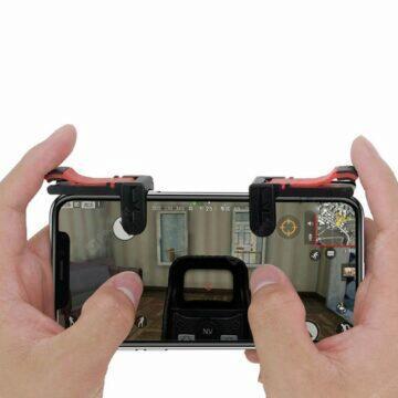 Herní tlačítka pro smartphone ruce