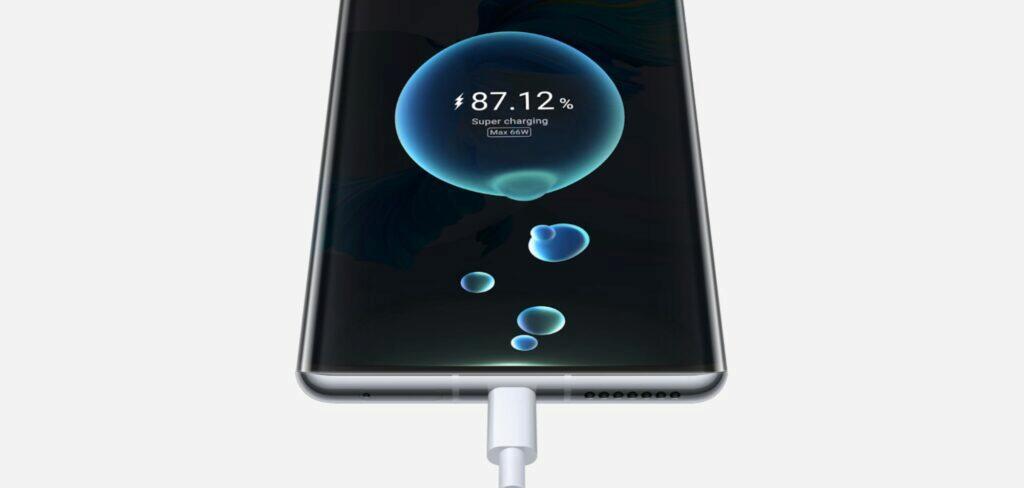 Huawei Mate 40 Pro nabíjení