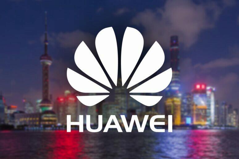 Huawei továrna na procesory v Šanghaji