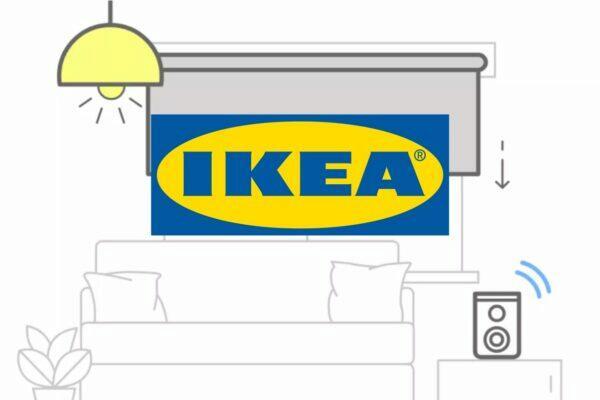 Ikea Tradfri scény