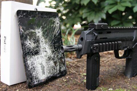 iPady zbraně úplatek