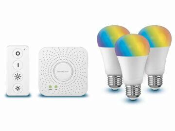 LIVARNOLUX Zigbee 3.0 Smart Home Starter Kit 2