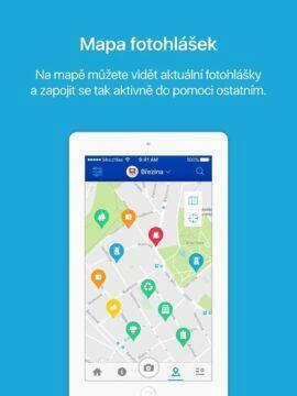 Mobilní rozhlas mapa fotohlášek