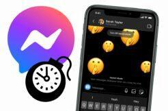 Messenger mizející zprávy