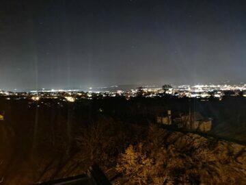 město noční režim Mate 40 Pro