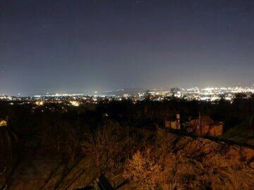 město noční režim P40 Pro