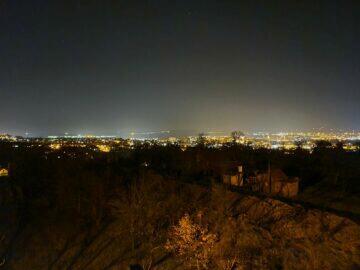 město noční režim S20 Ultra