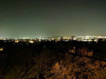 město tma P40 Pro