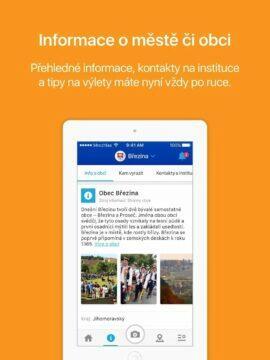 Mobilni Rozhlas aplikace novinky a informace o městě