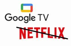Netflix Google TV chromecast