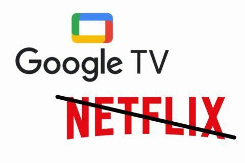 Netflix Google TV chromecast