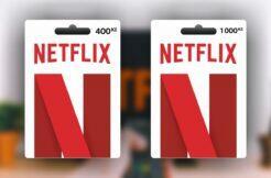 Netflix předplacené karty
