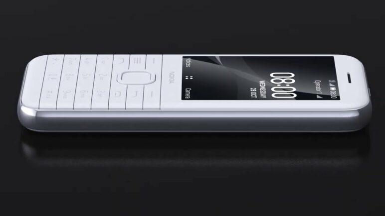 Nokia 8000 4G – Add a little flair